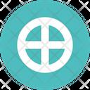 Sun Cross Solar Cross Cross Icon