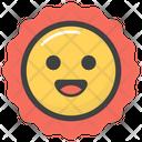 Sun Emoji Icon