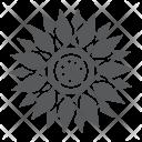 Sun Flower Oil Icon