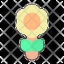 Sun Flower Flower Summer Icon