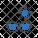 Glasses Sun Goggles Icon