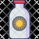 Sun Lotion Sun Block Sun Icon