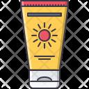 Sun Lotion Cream Icon