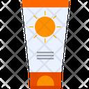 Sun Lotion Tube Icon