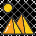 Sun Mountain Icon