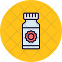 Sun Oil Sunblock Sunburn Cream Icon
