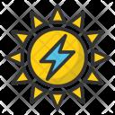Sun Power Icon