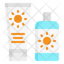 Sun Screen Cream Icon