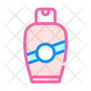 Cream Bottle Color Icon