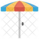 Sun Umbrella Beach Umbrella Sunshade Icon