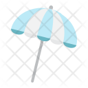 Sun Umbrella Beach Icon
