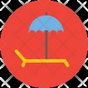 Tanning Parasol Deck Icon