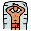 Beach Summer Vacation Icon