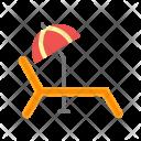 Sunbathing Icon
