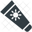 Sunblock Tube Container Icon