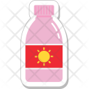 Sun Oil Sunscreen Icon