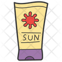 Sunblock Sunblock Cream Sunscreen Lotion Icon