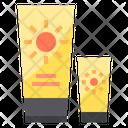 Sun Block Sunblock Sunscreen Icon