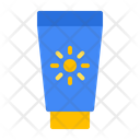 Sunblock Suncream Lotion Icon