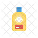 Sunblock Cream Bottle Icon