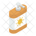 Skin Lotion Sunblock Sunblock Cream Icon