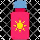 Summer Sunblock Sun Cream Icon
