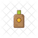 Sunblock Lotion Cosmetic Icon