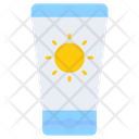 Sunblock Cream Location Icon