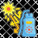 Sunblock Summertime Cream Icon