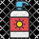 Sunblock Soap Dispenser Icon