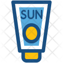 Sun Cream Sunscreen Icon