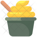 Ice Cream Gelato Frozen Food Icon