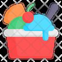 Ice Cream Sundae Ice Cream Sundae Icon