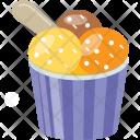 Sundae Ice Cream Icon