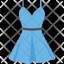 Sundress Halter Dress Icon
