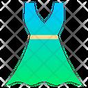 Sundress Dress Summer Icon