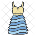 Sundress Gown Dress Icon