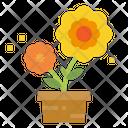 Flower Garden Plant Icon