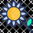 Bees Farm Flower Icon
