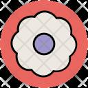 Sunflower Shape Polygon Icon