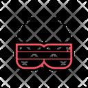 Sunglass Goggles Glasses Icon