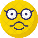 Sunglass Smiley Nerdy Big Grin Emoticons Icon