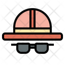 Hat Sunglasses Sunglasses Hat Icon