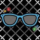 Msunglasses Sunglasses Goggles Icon