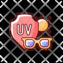 Sunglasses Sunburn Shades Icon
