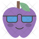 Sunglasses Apple Icon