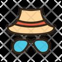 Sunglasses Hat Icon