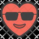 Sunglasses Heart Icon