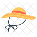 Sunhat Beach Protection Icon