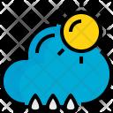 Sunhine Rainy Weather Icon